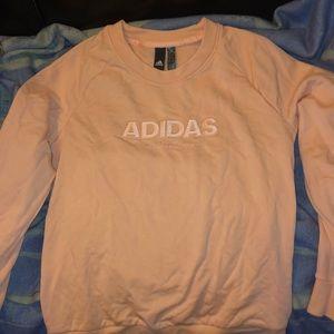 Adidas Light pink sweat shirt